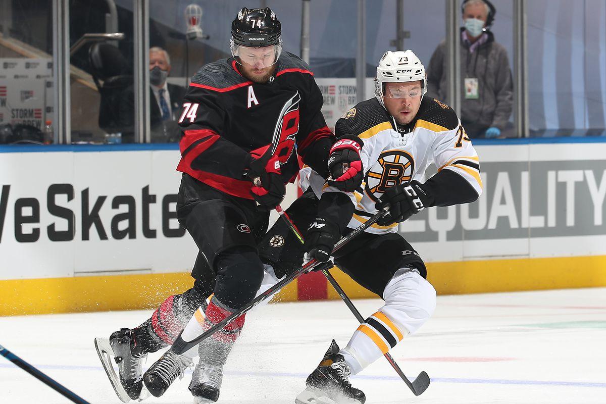 Boston Bruins v Carolina Hurricanes - Game Three