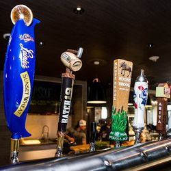 Beers on tap at Culinary Dropout. Photo by Erik Kabik