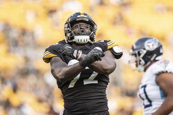 timeless design 1bcdc 53e3c Olasunkanmi Adeniyi News, Stats, Photos | Pittsburgh Steelers