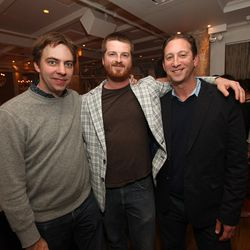 Founder Lockhart Steele, Curbed Chicago's Ian Spula and Eater Chicago's Ari Bendersky