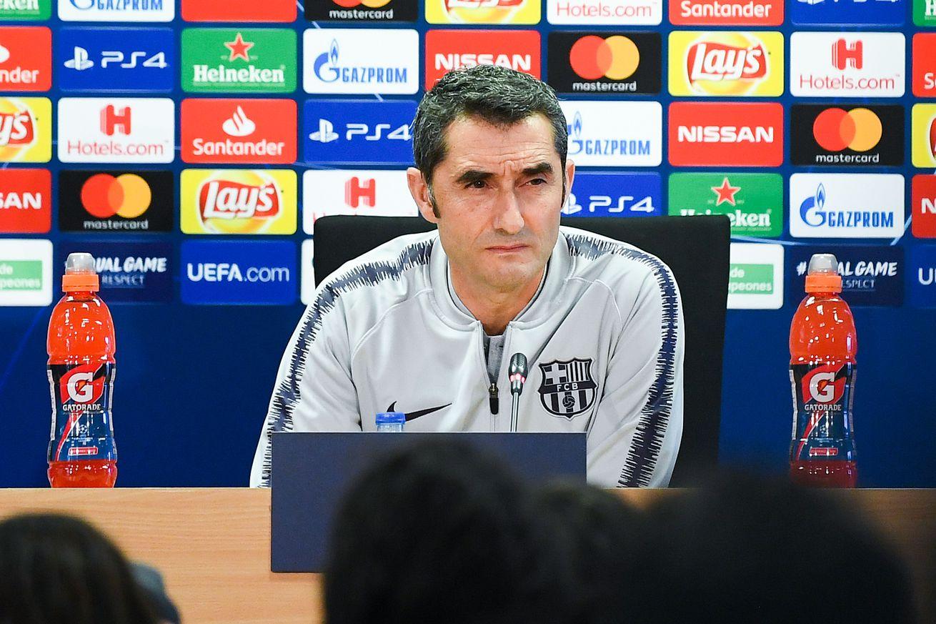 Valverde talks Coutinho, Fekir and Zidane ahead of Lyon