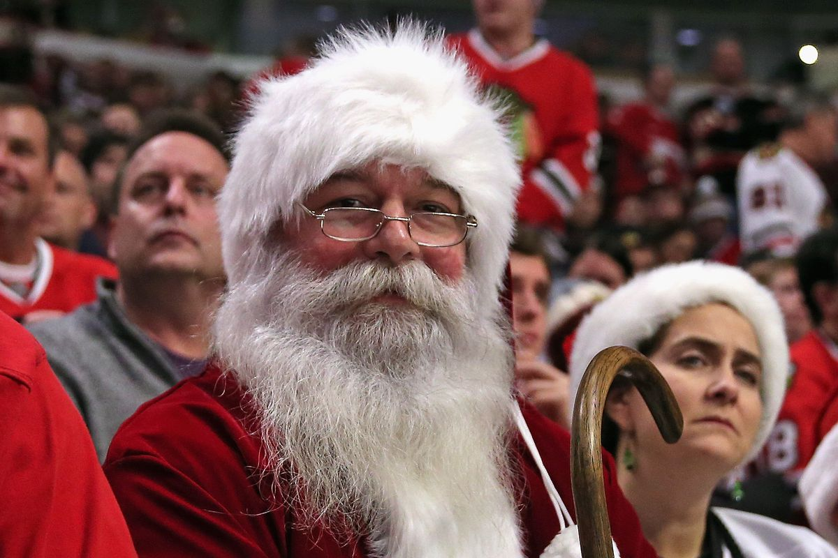 Can Santa make the Wild's holiday hopes come true?