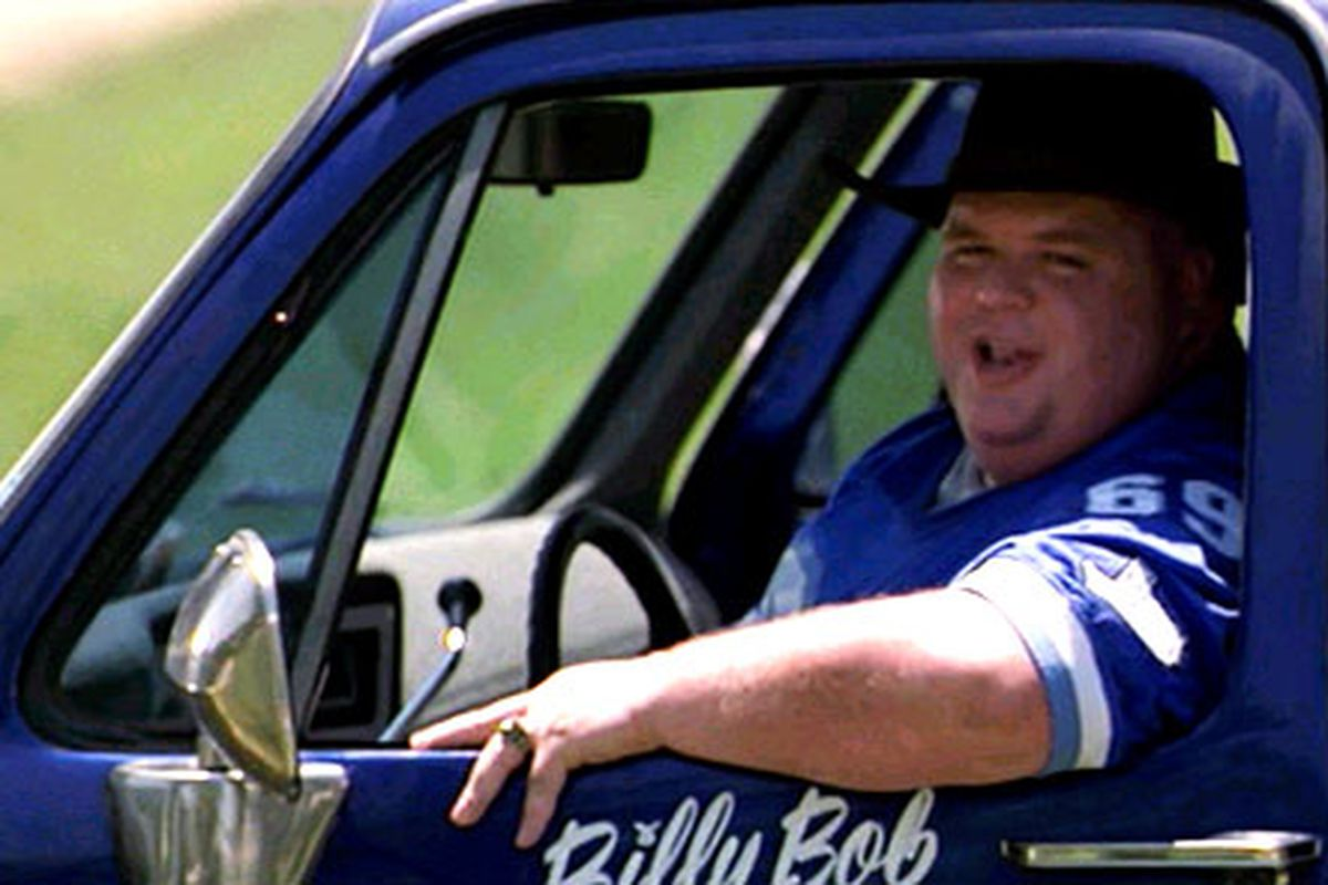 Billy Bob has another concussion!