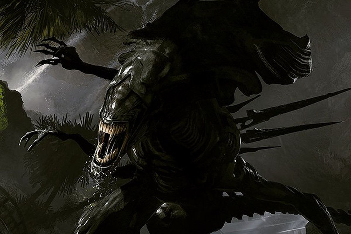 District 9 Director Reveals Concept Images Of The Alien Movie He Was Secretly Working On