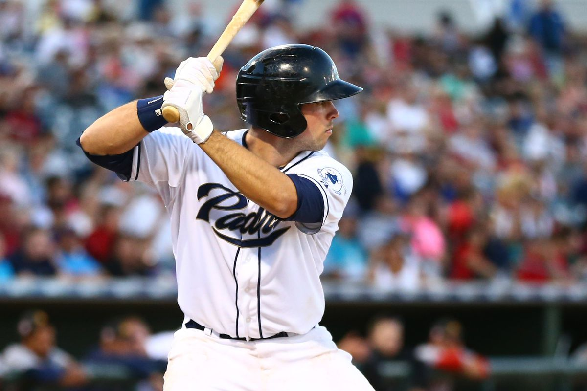 Austin Hedges, above, is one of the best catching prospects in the minors.