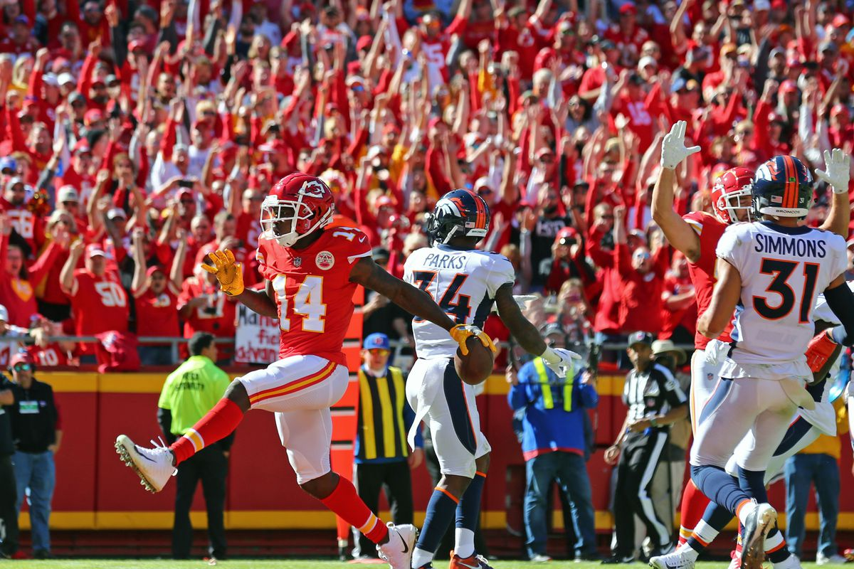 ccf3b3e1a Broncos at Chiefs recap  Denver had their chances  come up short in ...