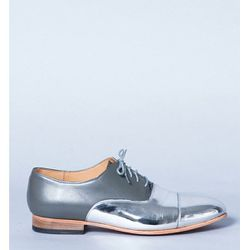 """<b>Dieppa Restrep<b> Joe Two-Tone Mirror Oxfords, now <a href=""""http://shopbird.com/product.php?productid=25598&cat=0&manufacturerid=&page=1"""">$169</a> at Bird"""