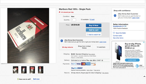 Teen vapers are using eBay to dodge age restrictions - The Verge