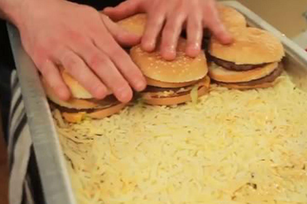 Epic Meal Time Makes a Fast Food Hamburger Lasagna - Eater
