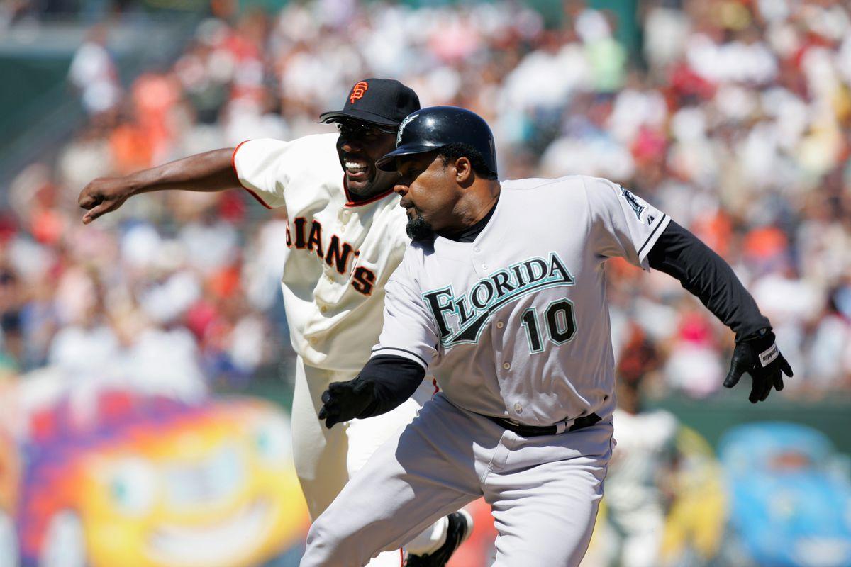 Florida Marlins v San Francisco Giants