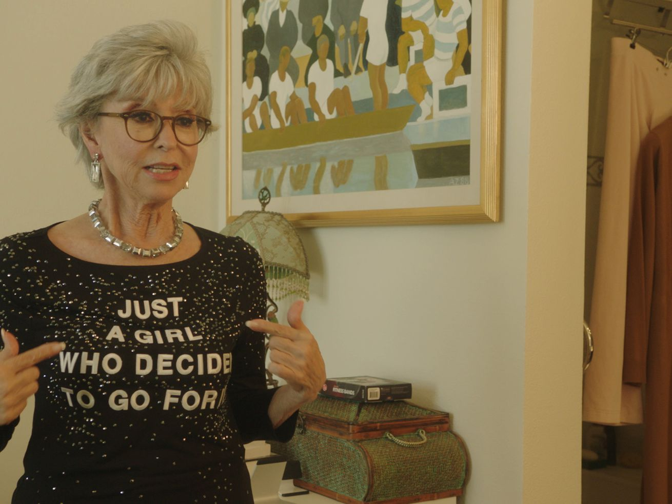 """Just a Girl Who Decided to Go For It,"" starring Rita Moreno, will be screened at the Chicago Latino Film Festival."