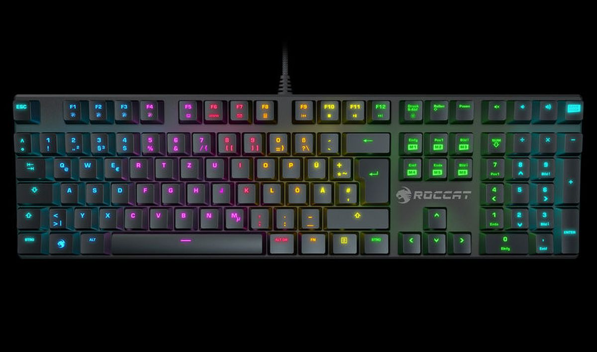 Best mechanical keyboards of 2016 polygon this year im checking out the companys new suora fx a rainbow bright frameless keyboard that might just strike the right balance for some of you biocorpaavc Gallery