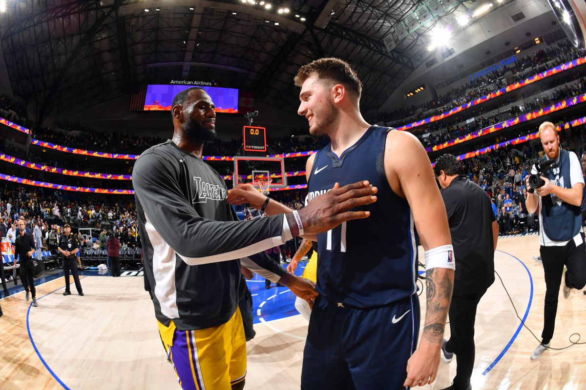 LeBron James vs. Luka Doncic reminded us why we love basketball -  SBNation.com