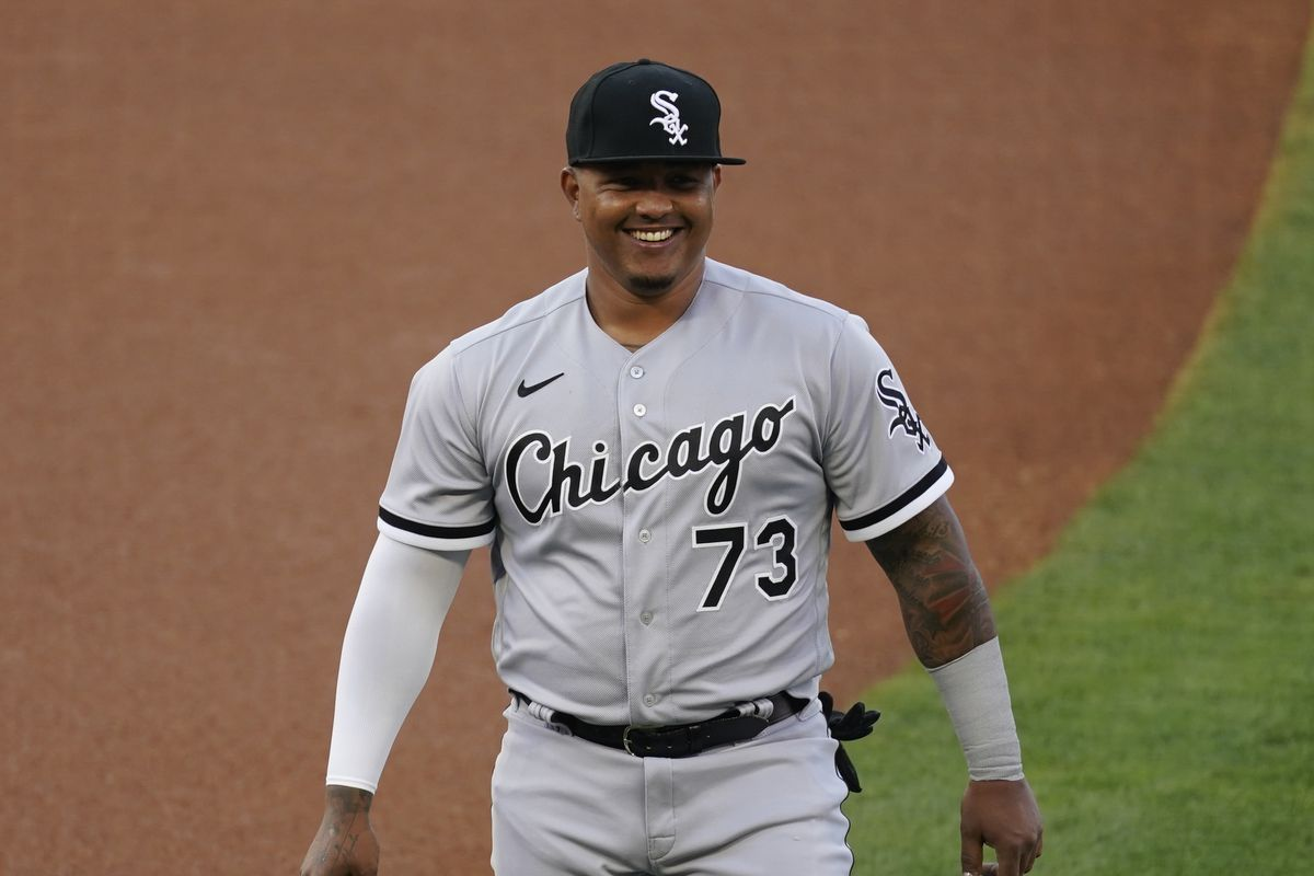 White Sox designated hitter Yermín Mercedes, who made history in the opening series of the 2021 season, was named American League Player of the Week.