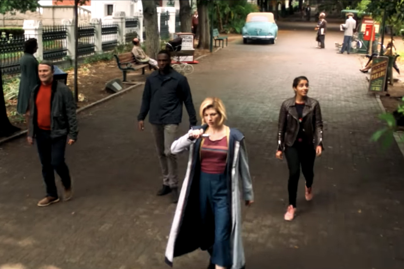 the latest doctor who trailer reminds you who s in charge