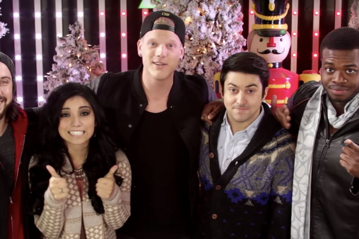 Pentatonix Christmas Youtube.These Christmas Songs Are Pentatonix S Most Viewed On