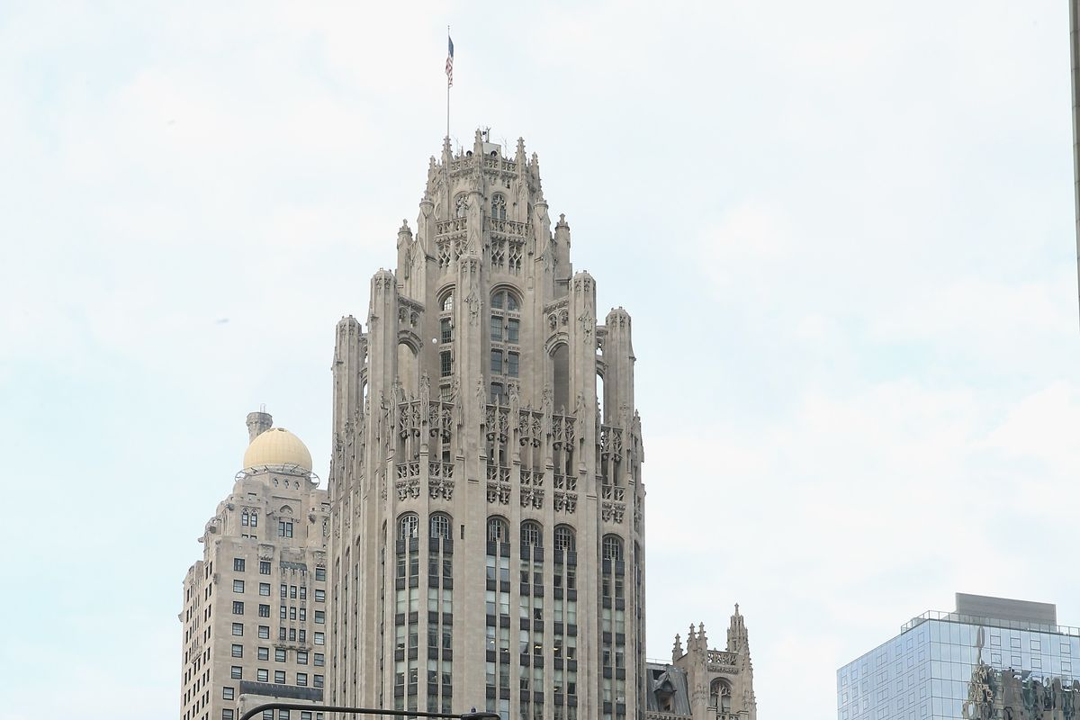 As the Tribune Tower is being broken up into condominiums, the newspaper that once occupied it faces an existential threat by Alden Global, a vampirish hedge fund notorious for ruining newspapers.
