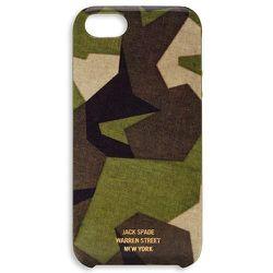 "<strong>Jack Spade</strong> M90 Camo iPhone 5 Case, <a href=""http://www.jackspade.com/m90-camo-iphone-5-case/9RRU0010.html?dwvar_9RRU0010_color=300&cgid=Tech#start=6&cgid=Tech "">$40</a>"