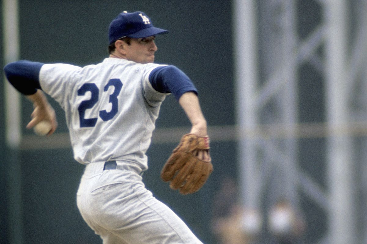 Claude Osteen was a rotation fixture for nine seasons with the Dodgers, and a part of big trades both coming and going to and from Los Angeles.