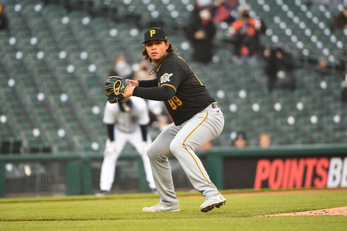 MLB: APR 21 Pirates at Tigers