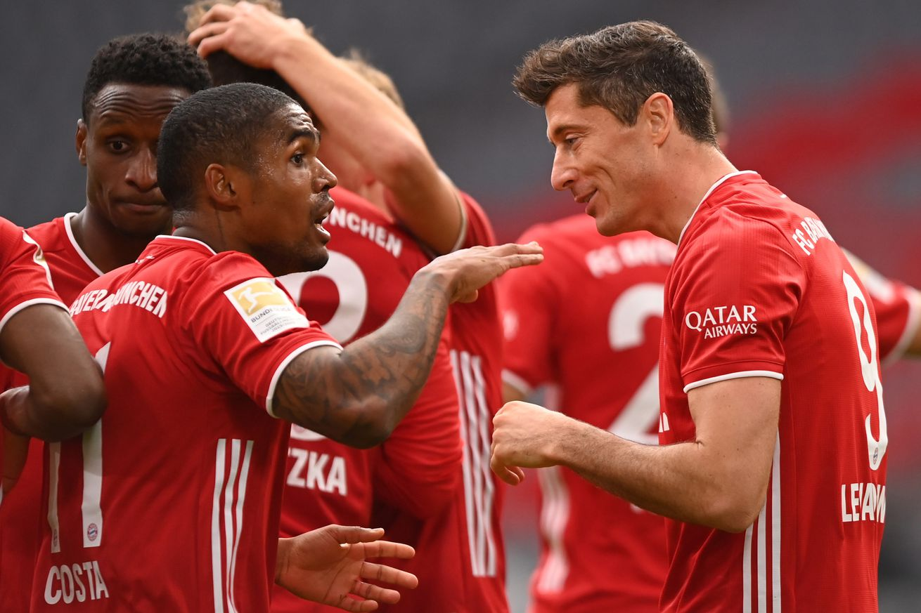 Three observations from Bayern Munich?s 5-0 demolition of Eintracht Frankfurt
