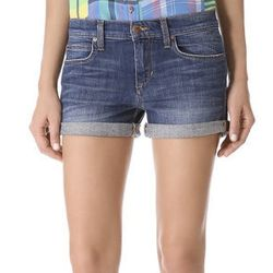 """<strong>Joe's Jeans</strong> Rolled Shorts in Melodie, <a href=""""http://thebluesjeanbar.com/womens/jeans/shorts/joes-rolled-shorts-melodie.html"""">$108</a> at The Blues Jean Bar"""