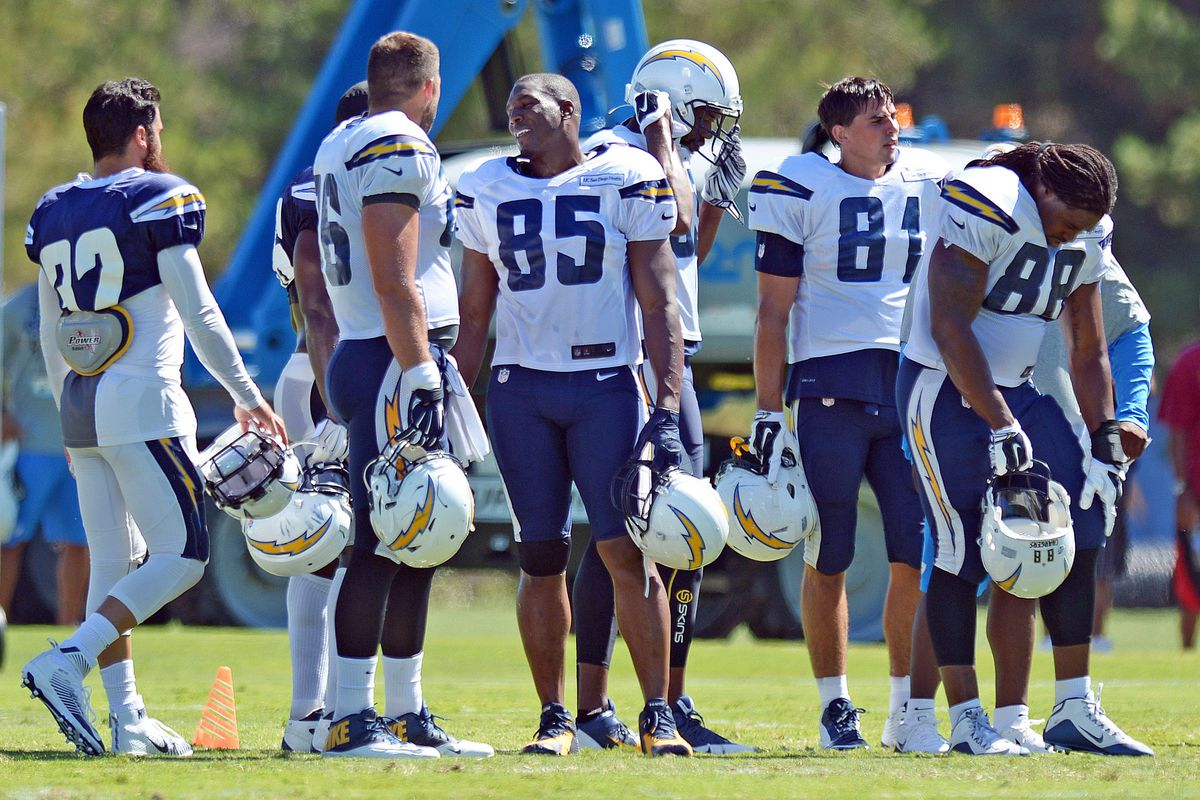 2015 San Diego Chargers Training Camp Bolts From The Blue
