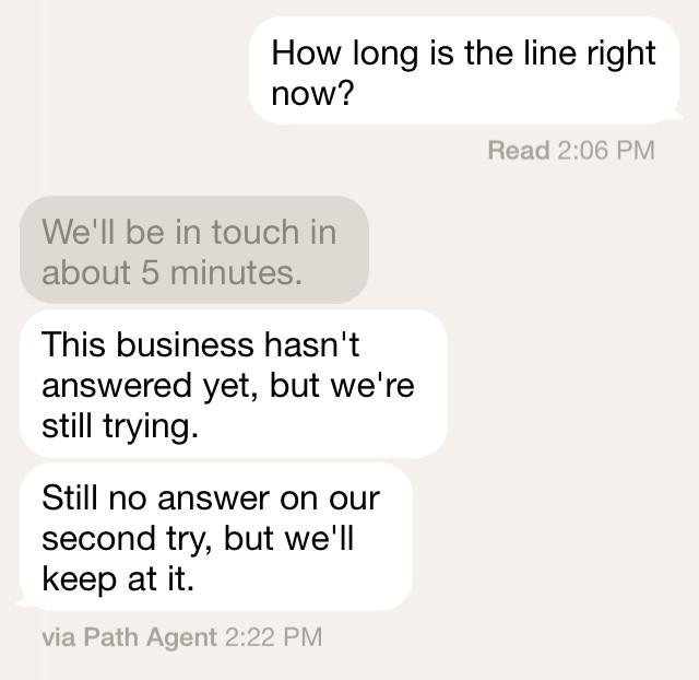 path talk line