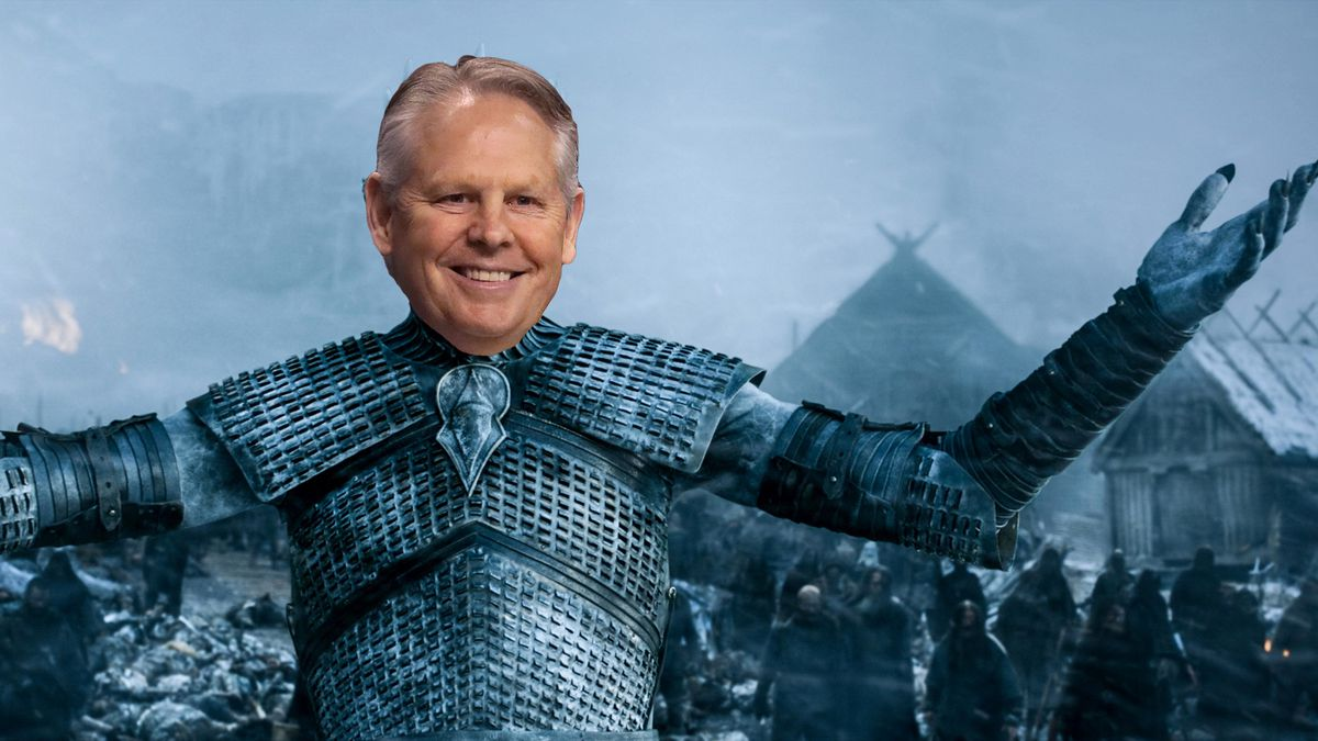 Danny Ainge as the Night King