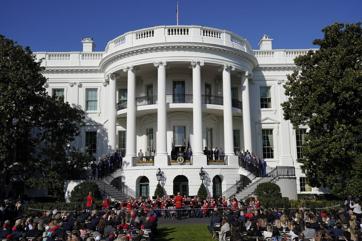 President Trump Hosts World Series Champions, The Washington Nationals