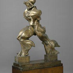 'Unique Forms of Continuity in Space' by Umberto Boccioni (1913)
