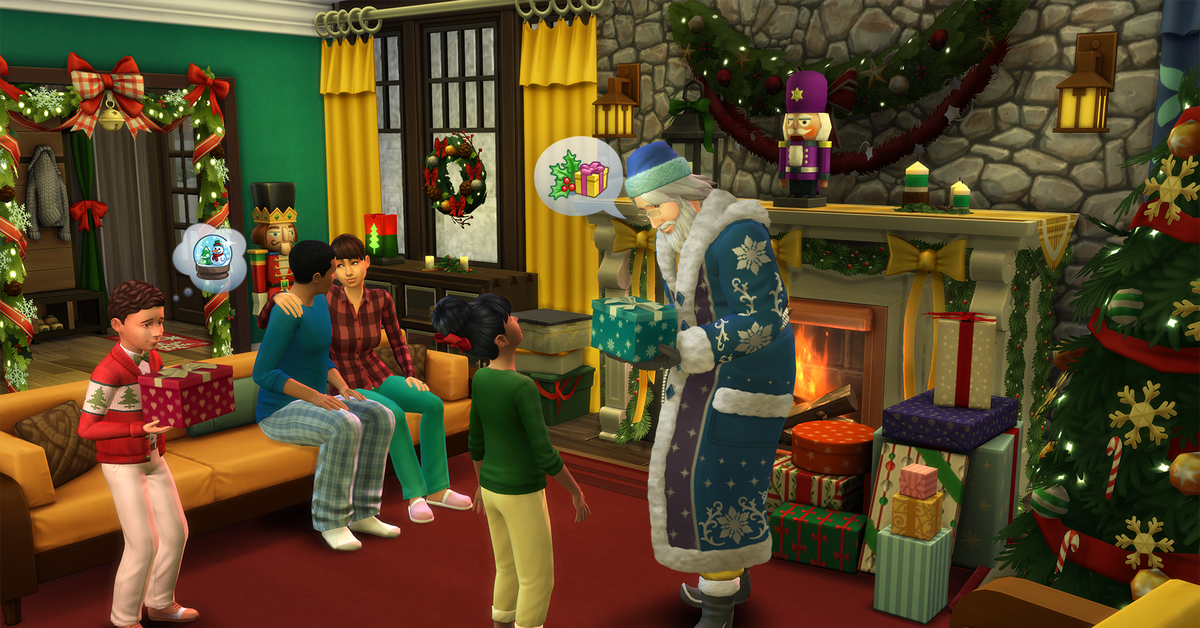 You can seduce Santa Claus in The Sims 4's new...