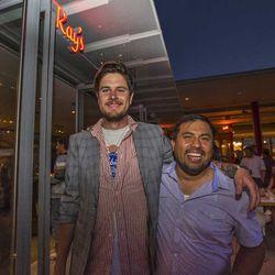 Dave Fernie and Picca chef Ricardo Zarate