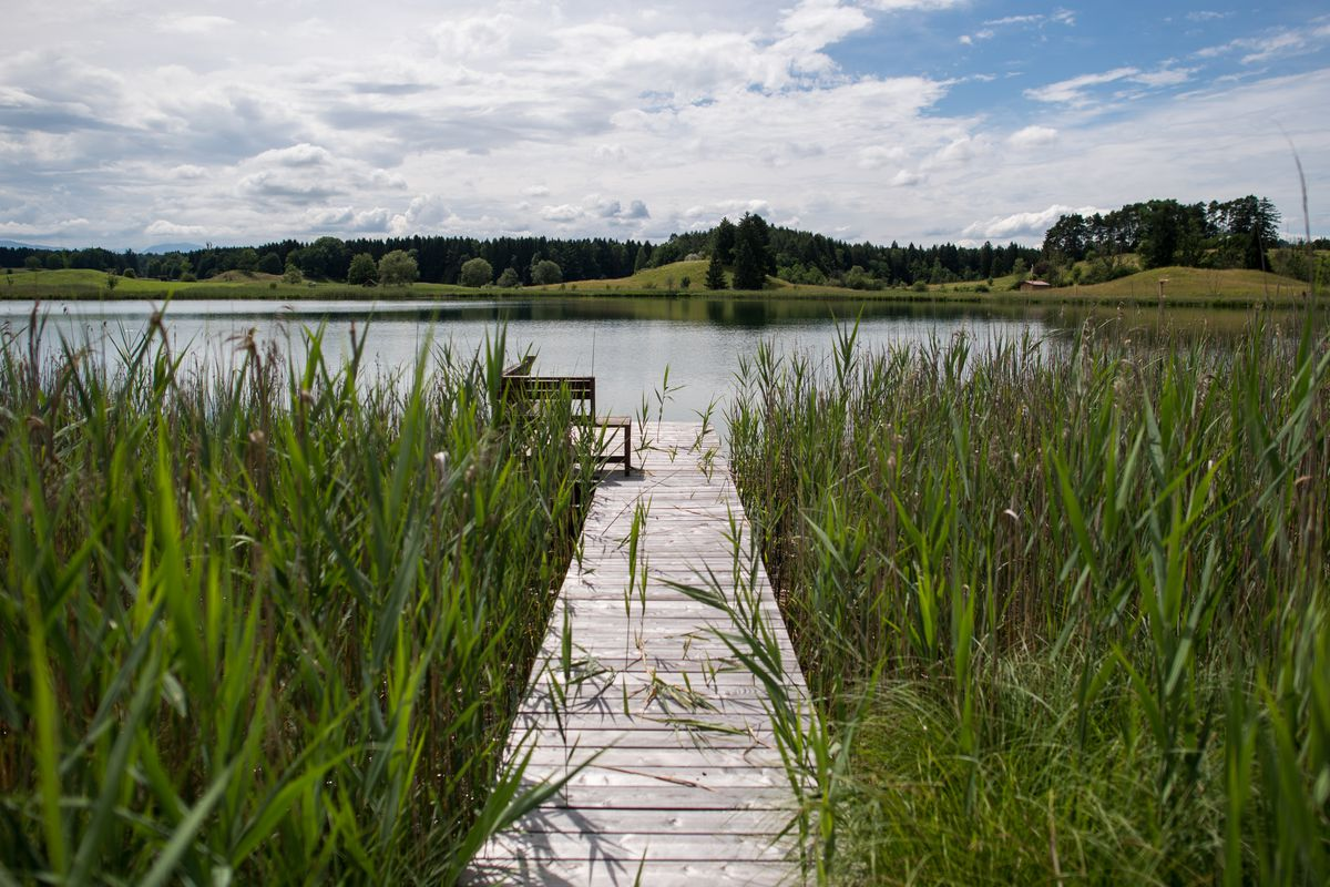 Tranquility Reigns At Bavaria's Easter Lakes