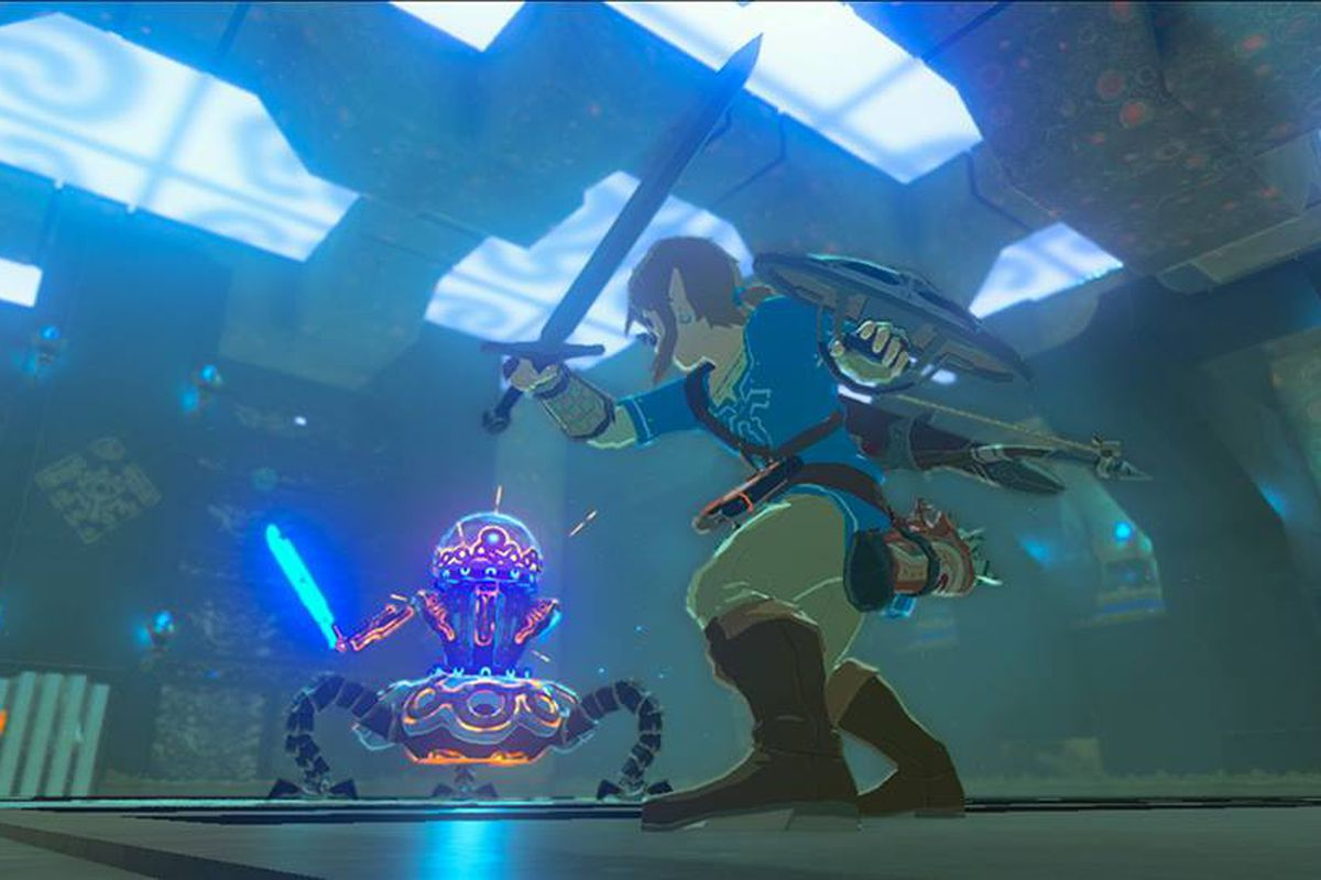 Breath of the Wild on Switch doesn't require an install