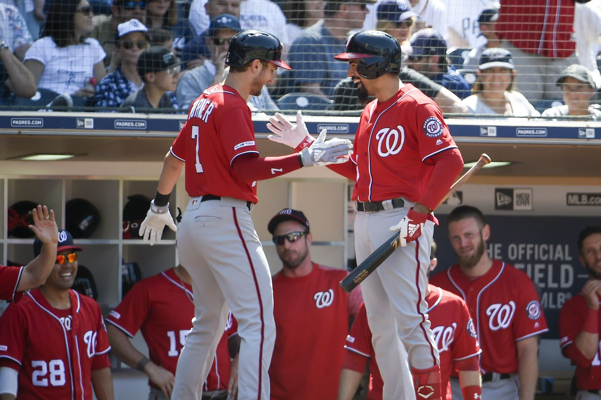 The four celebration dances from the Washington Nationals' four straight homers, ranked