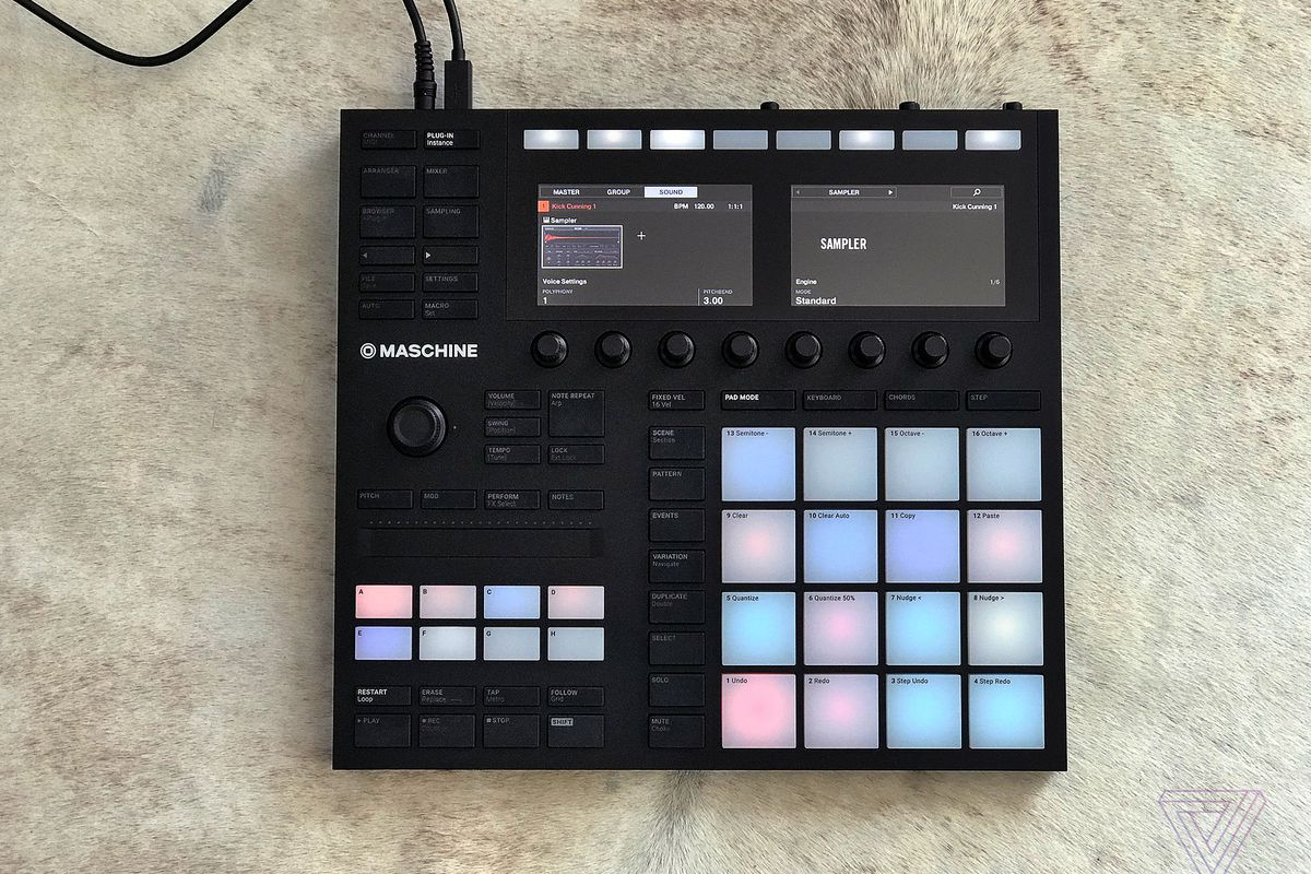 native instruments maschine mk3 review an all in one music making playground the verge. Black Bedroom Furniture Sets. Home Design Ideas