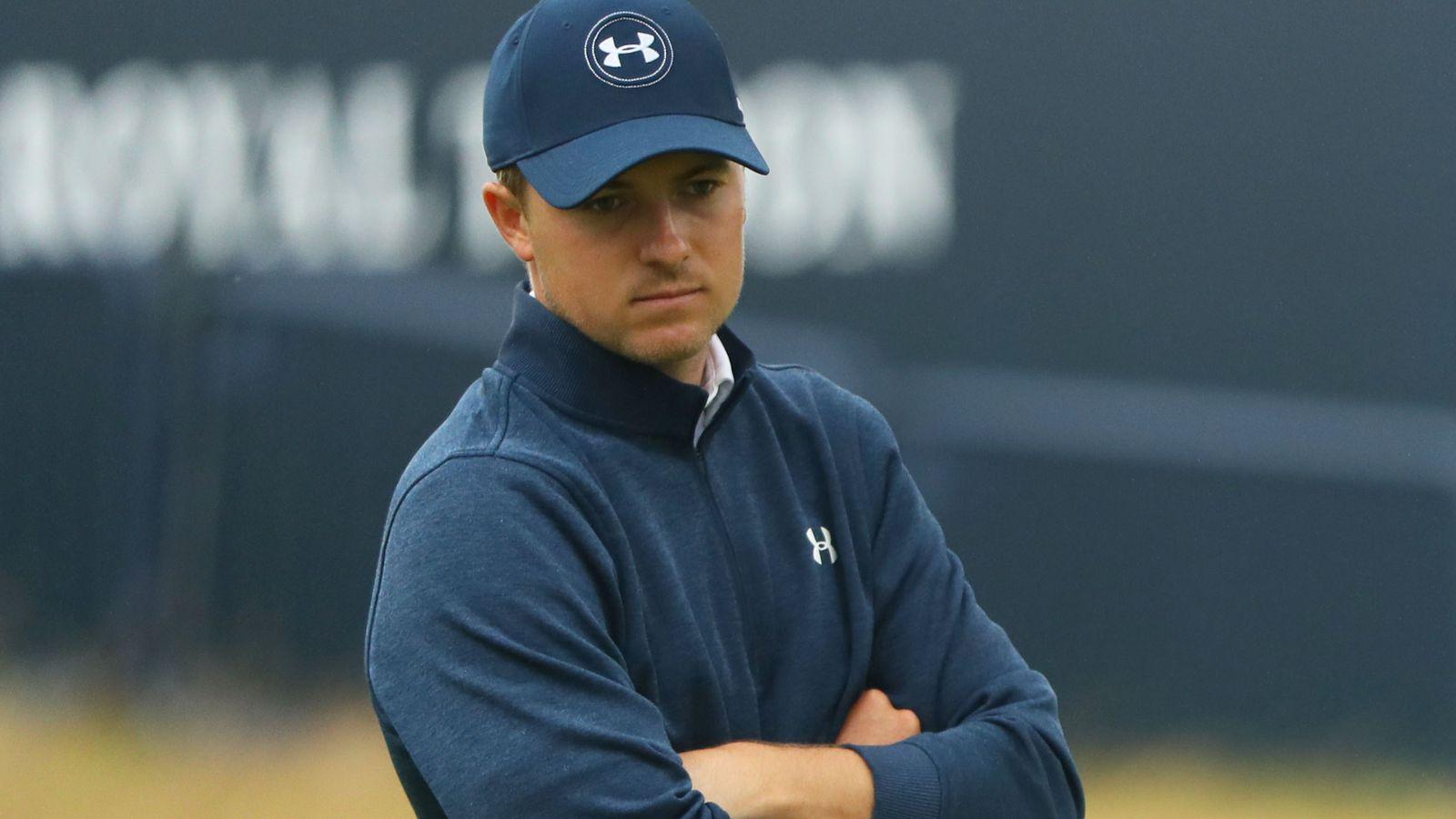 Jordan Spieth对他的高尔夫球比赛充满了负面影响