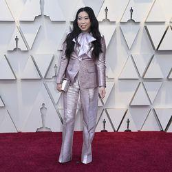 Awkwafina arrives at the Oscars on Sunday, Feb. 24, 2019. | Richard Shotwell/Invision/AP