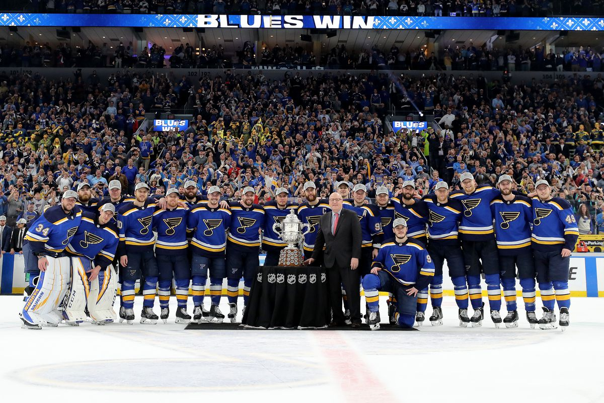 b3a3c1ac990 Share The St. Louis Blues Are Headed To The Stanley Cup Final. tweet share  Reddit Pocket Flipboard Email. No one touched it, don't worry.