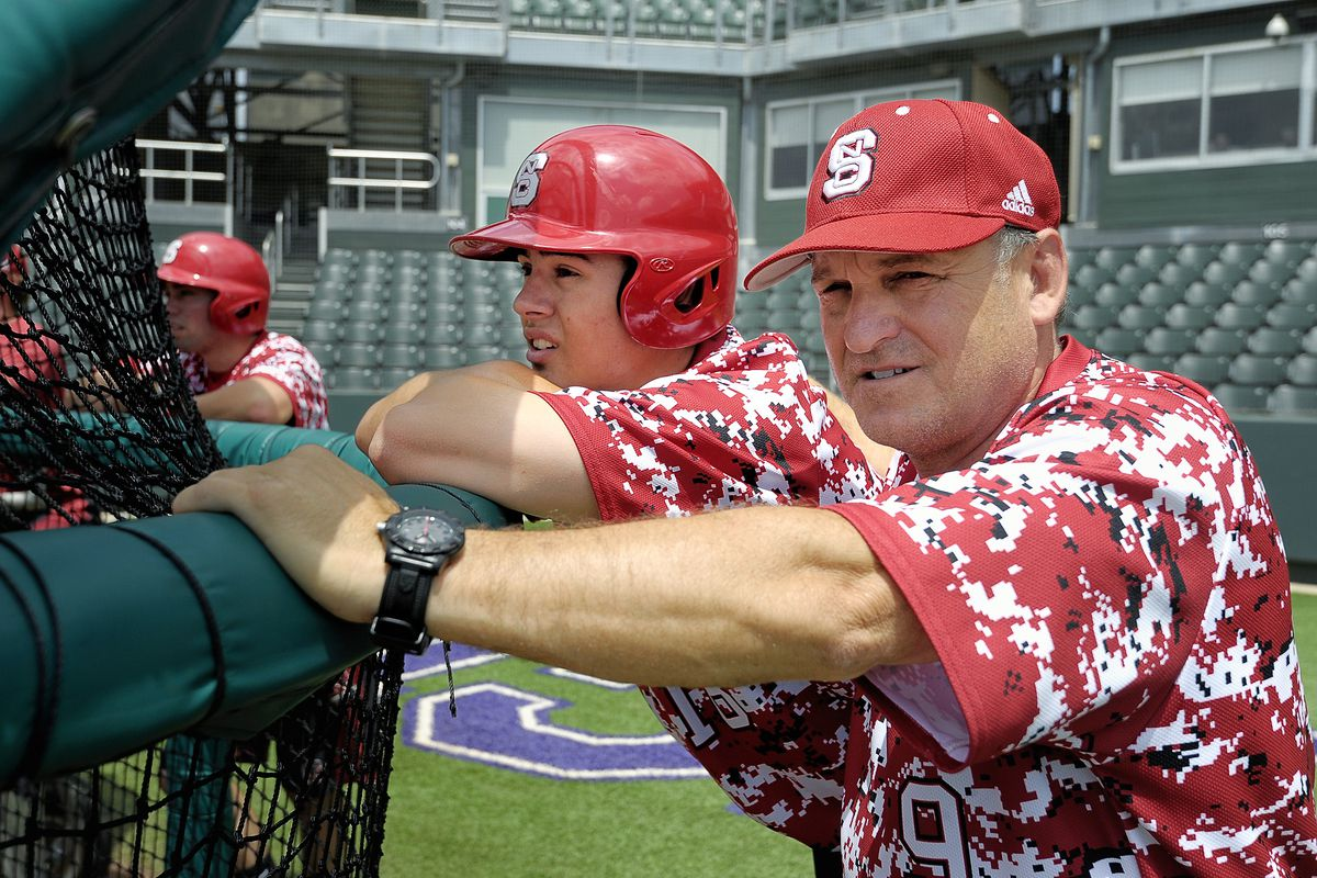 NC State baseball practice