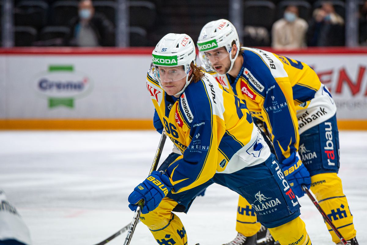 Lausanne HC v HC Davos - Ice Hockey National League