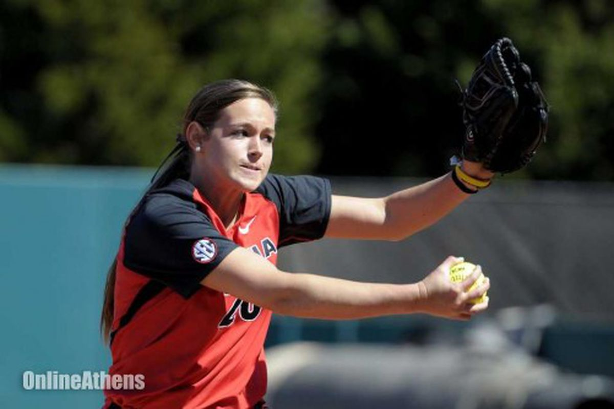 UGA star Chelsea Wilkinson could be a thorn in the Crimson Tide's side this weekend in one of the biggest SEC series of the season.