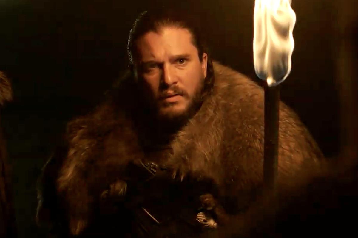 jon snow games of thrones trailer season 8