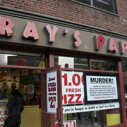 """A sign from 2011. Gray's was forced to raise its prices at least four time in the past 15 years. <span class=""""credit"""">[<a href=""""http://aculinarymarriage.com/2011/07/28/new-york-city-wanderings-grays-papaya/"""">Photo</a>]</span>"""