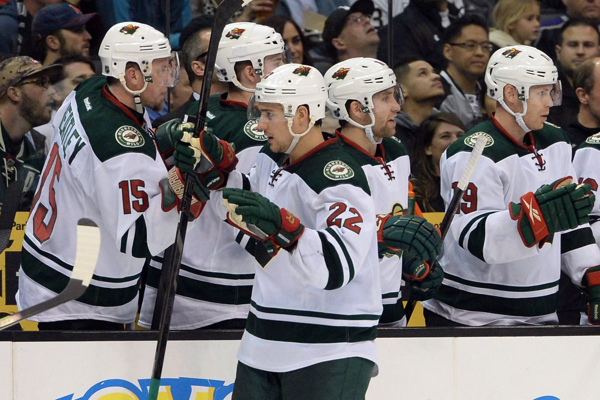 Nino Niederreiter was the big hero tonight, assisting on the first goal, and scoring the game-winner.