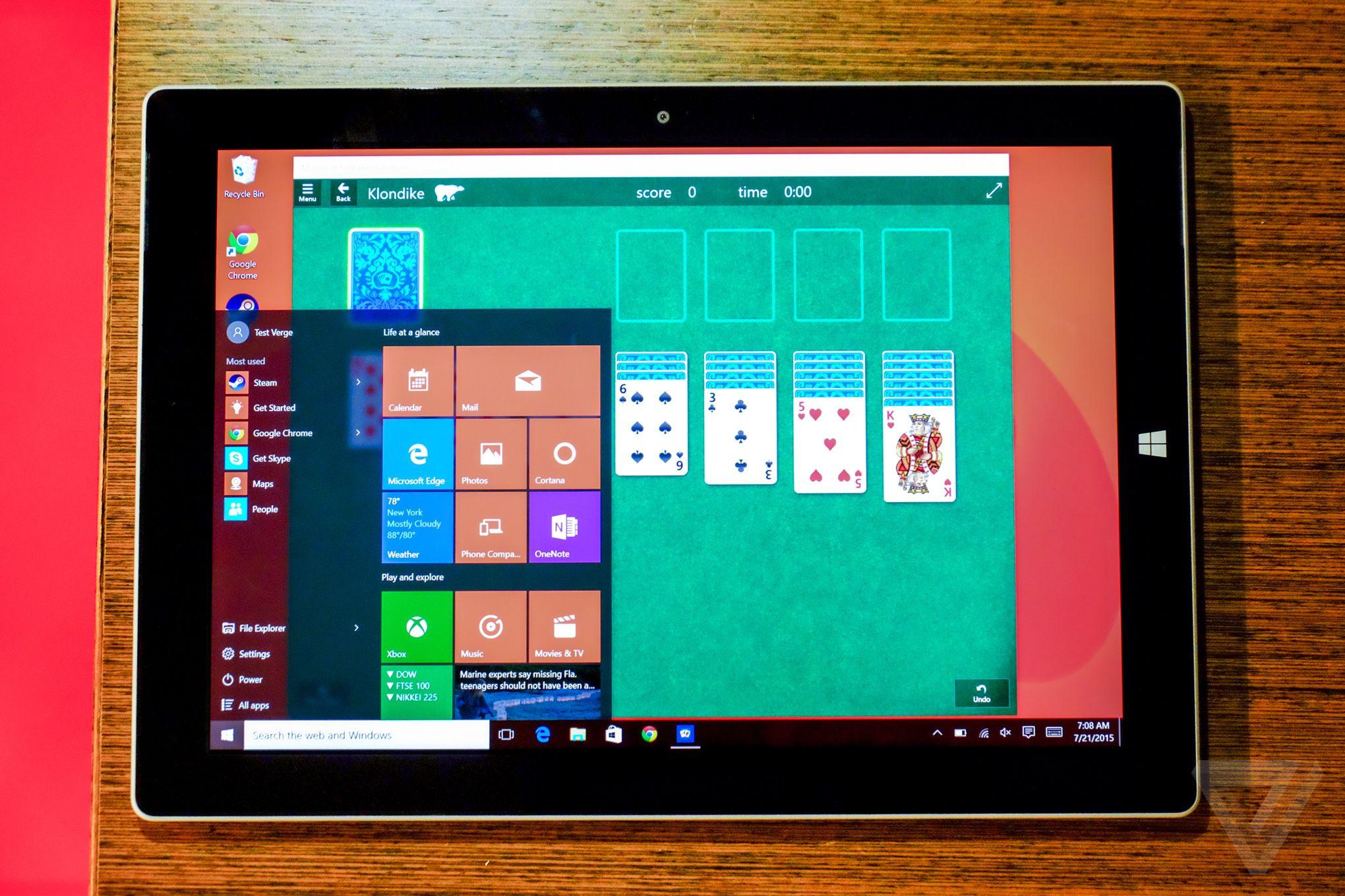 Windows 10 review photos EMBARGO