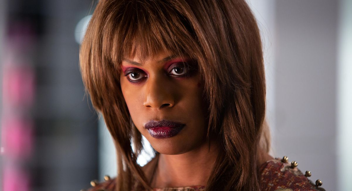 Laverne Cox in Bad Hair