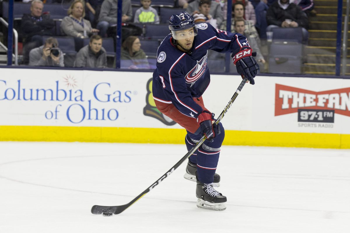 NHL: JAN 12 Canucks at Blue Jackets