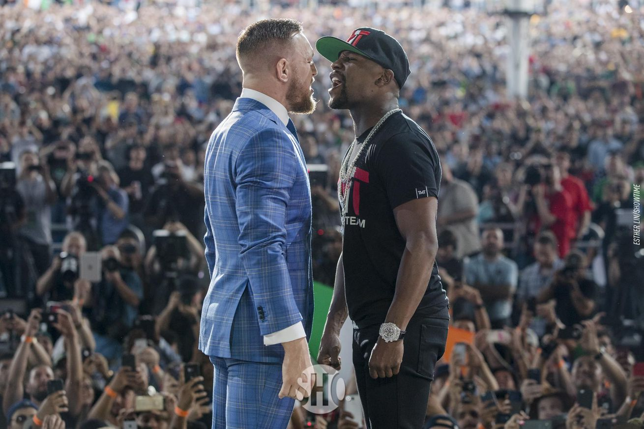 Conor McGregor's father: Combat sports in for 'seismic shock' on night of Floyd Mayweather fight